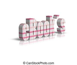 e books 3d word