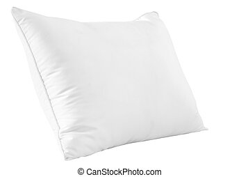 White pillow - Isolated white pillow