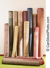 Carpets - Handmade rolled up rugs for flooring