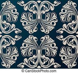Seamless vector background. Medieval Ornament