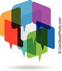 Speech array logo - Speech array