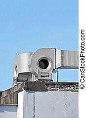 Industrial ventilation system - Industrial steel air...