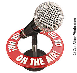 On the Air Microphone Words Live Interview Report - On the...