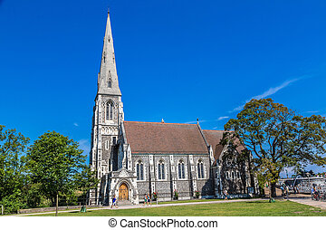 Saint Albans Church in Copenhagen - St Albans Church in a...