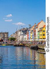 Copenhagen, Nyhavn - Nyhavn district is one of the most...
