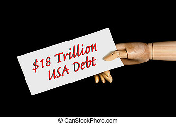 American Debt - 18 trillion American debt