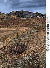 mining area