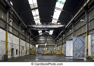 abandoned heavy truck garage - abandoned heavy truck garage...