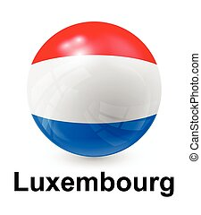 luxembourg state flag