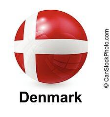 denmark state flag