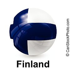 finland state flag