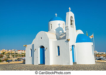 St. Nicolas church in Protaras, Cyprus.