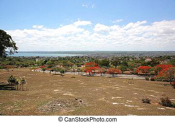 Cityscape Matanzas Cuba - cityscape of Matanzas seen from...