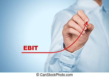 EBIT increase - EBIT (Earnings before interest and tax)...