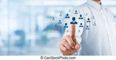 human, recursos, e, CRM,