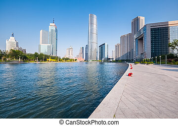 modern buildings in tianjin