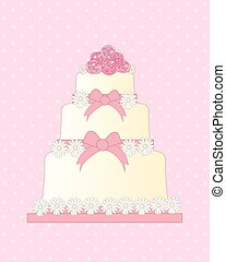 wedding invitation - a vector illustration in eps 10 format...