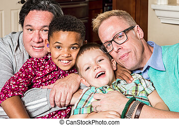 Children with Gay Parents - Gay parents and their children...