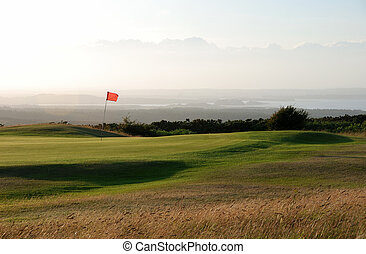 Golf Course - The Isle of Purbeck golf course, which once...