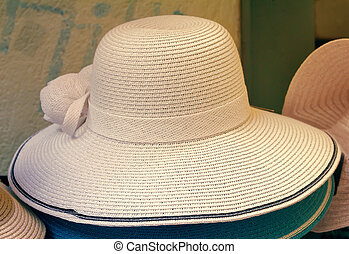 Womens summer hat for sun protection - Womens summer hat...