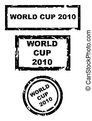 World Cup 2010 stamps