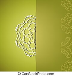 Ornamental Pattern - Abstract Ornamental Pattern. Abstract...