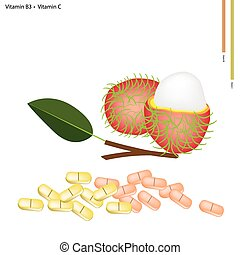 Rambutans with Vitamin B3 and Vitamin C - Healthcare...