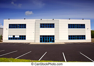 white coporate office block for rent - photo of white...