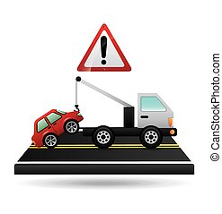 road signal design, vector illustration eps10 graphic