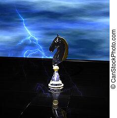 Strategic Chess Move Concept - Strategic chess move concept....