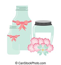 mason jar - jar mason design, vector illustration eps10...