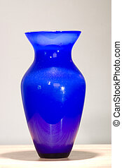 Blue Vase - Isolated blue vase ready to join a collection