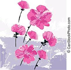 beauty as flowers