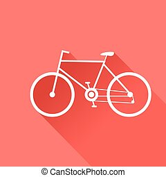 Sport bike Vector illustration