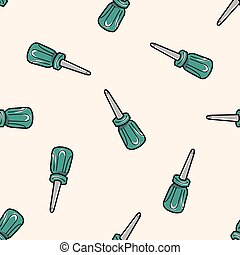 work tool screw driver theme elements vector,eps