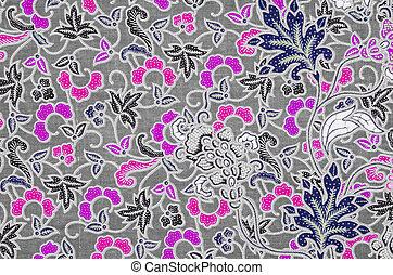 Beautifu batik patterns