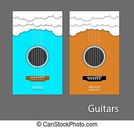 guitar 1 - guitar cloud music vector