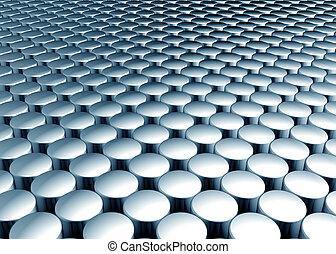 Shiny cylinder  pattern background