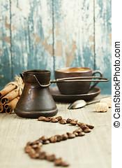 café, composición,
