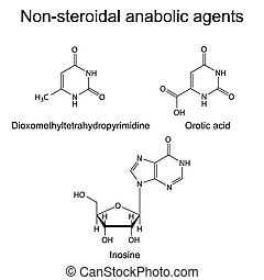 Non-steroidal anabolic compounds - Structures of...