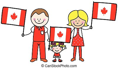 Family from canada