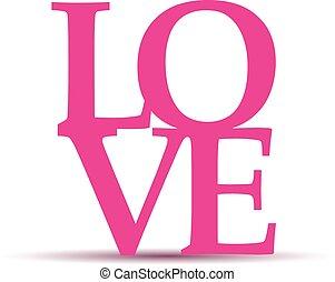 love heart text