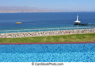 Coral World Underwater Observatory aquarium in Eilat Israel...