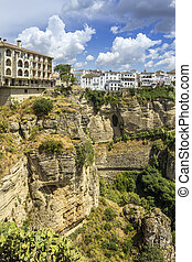 Ronda landscape view A city in the Spanish autonomous...