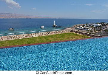 Coral World Underwater Observatory aquarium in Eilat Israel...
