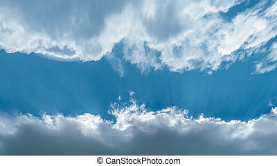 clouds and sky for text - beautiful celestial landscape with...
