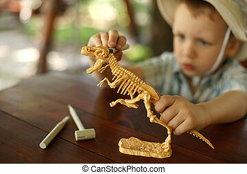 boy wants to be an archaeologist - little boy wants to be an...