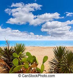 Almeria Mojacar beach Mediterranean sea Spain - Almeria...