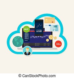 online stocks forex index trading cloud mobile