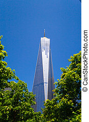 One World Trade Center buidling - The main building at One...